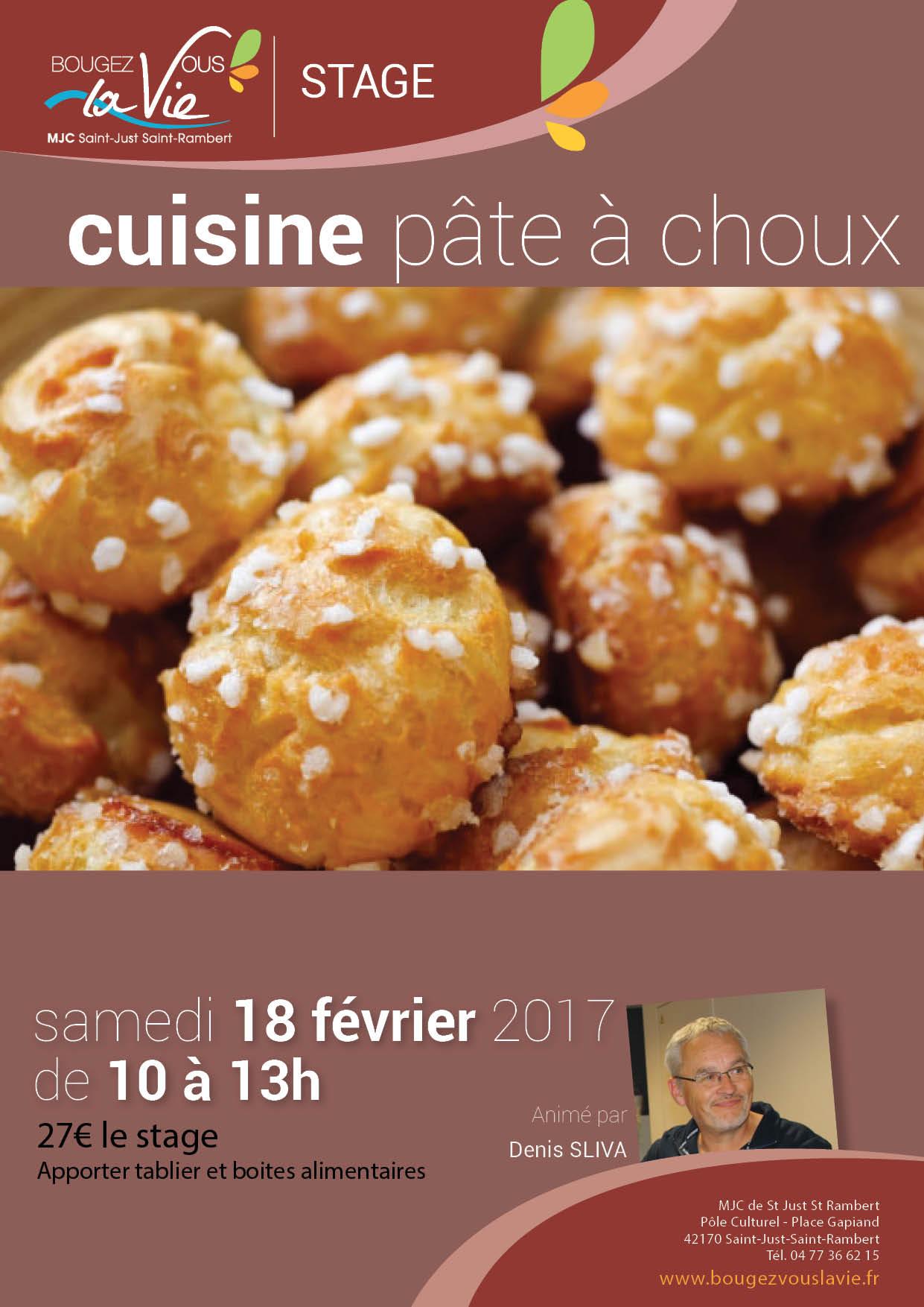 Cuisine p te choux mjc saint just saint rambertmjc - Pate a choux herve cuisine ...