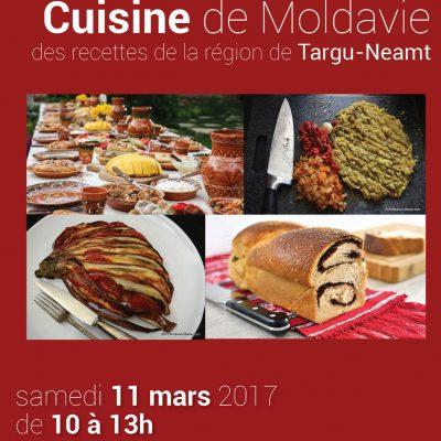 cuisine de Moldavie pour un repas convivial
