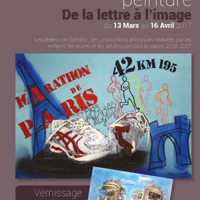 exposition peinture «de la lettre à l'image»