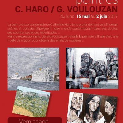 Exposition artistes HARO / VOULOUZAN