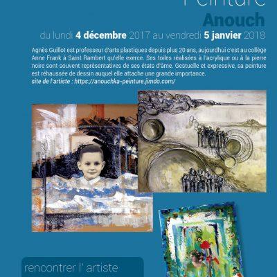 Exposition peinture ANOUCH