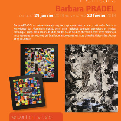 Exposition Peinture Barbara Pradel