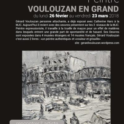 Exposition Gerard VOULOUZAN