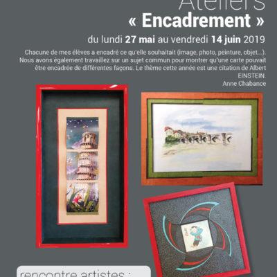 exposition «encadrement»